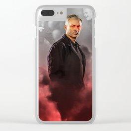 Jose Mourinho Clear iPhone Case