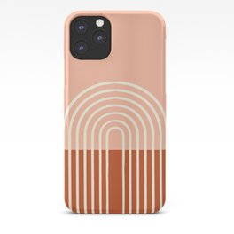 Terracota Pastel iPhone Case