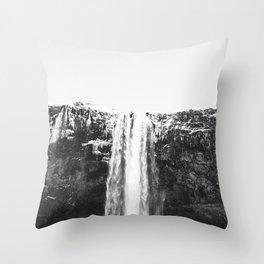 SELJALANDSFOSS / Ireland Throw Pillow