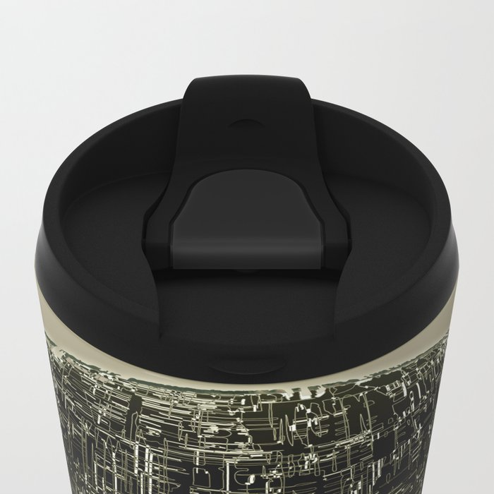 Planetary Mood 4 / Divergence Metal Travel Mug