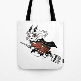 Demon Witch Halloween Tote Bag