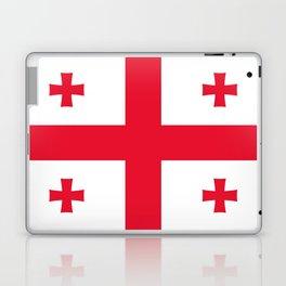 Flag of georgia-Georgia,Sakartvelo, Causasus,georgeian,საქართველო ,Tbilisi,causasus,Georgian,ქართული Laptop & iPad Skin