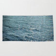 The Sparkle of the Sea Beach Towel