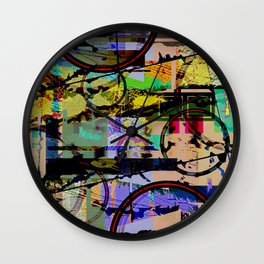 I'd Rather Be Nothing Wall Clock