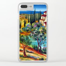 CASALI TOSCANI Clear iPhone Case