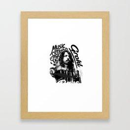 Grohl Framed Art Print