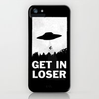 iPhone 5/5s Case featuring Get In Loser by moop