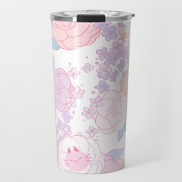 Feline Florals Travel Mug