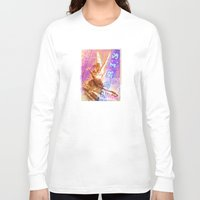 posters Long Sleeve T-shirts featuring Paris Posters - Cupid + Psyche by G_Stevenson