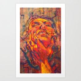 Self-Inflicted Art Print