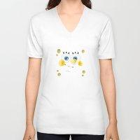 spongebob V-neck T-shirts featuring SpongeBob by solostudio