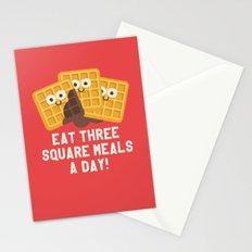 Because You Deserve Batter Stationery Cards
