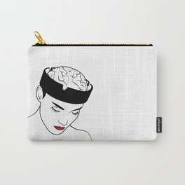 Ashtray Girl Illustration Carry-All Pouch