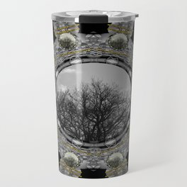 Metal power on Mother Earth Pop Art Travel Mug