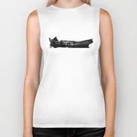boat Biker Tanks featuring Boat by kartalpaf