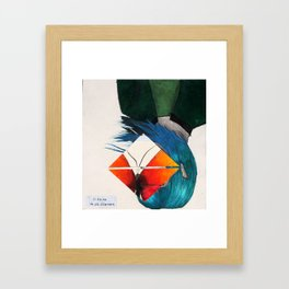Untitled 76.92 Framed Art Print