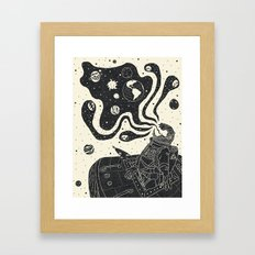 From the Void Framed Art Print