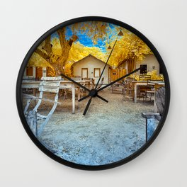 Trancoso Little Houses Wall Clock