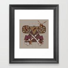 Honey Trap Framed Art Print