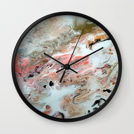 "Original Painting Art ""New Renaissance"" Wall Clock"
