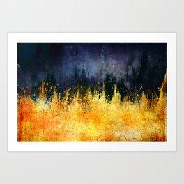 My burning desire Art Print