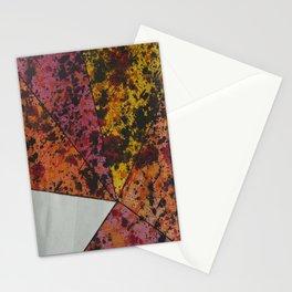 Corner Splatter # 10 Stationery Cards