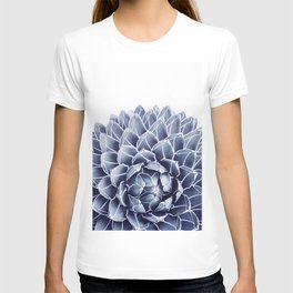 Succulent splendour - chambray T-shirt