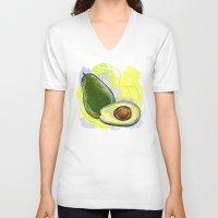 vietnam V-neck T-shirts featuring Vietnam Avocado by Vietnam T-shirt Project