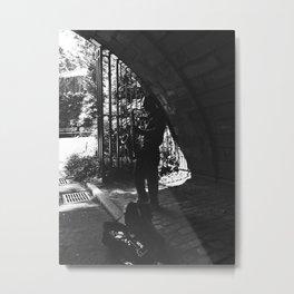 Jazz at Central Park. Metal Print