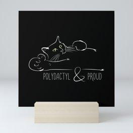 Polydactyl & Proud Mini Art Print