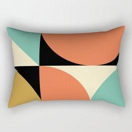 Mid Century Modern Geometric Abstract 235 Rectangular Pillow