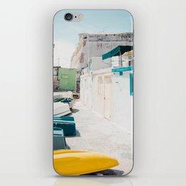 Coastal Fishing Village iPhone Skin