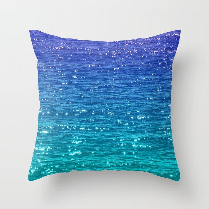SEA SPARKLE Throw Pillow