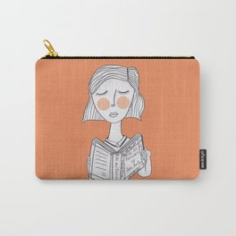 Reading Jane Austen is always a good idea. Carry-All Pouch