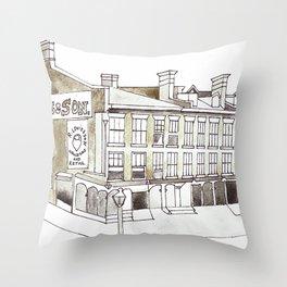 Old King Street Toronto Throw Pillow