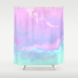 Candy Floss. Shower Curtain