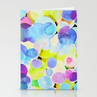 polka dot Stationery Cards featuring Polka Dot by Amy Sia
