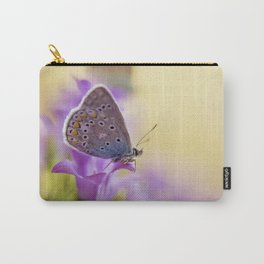Blue winged butterfly Carry-All Pouch