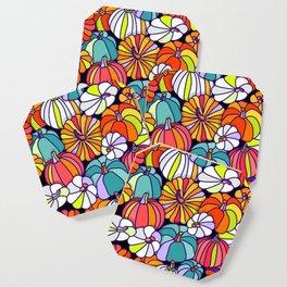 Pumpkin Pattern Coaster