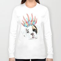 puppy Long Sleeve T-shirts featuring Puppy by 13 Styx