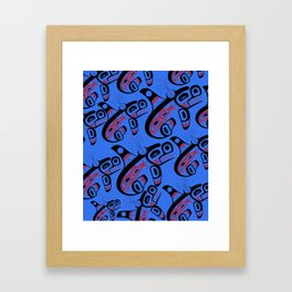 Traveling pod Framed Art Print