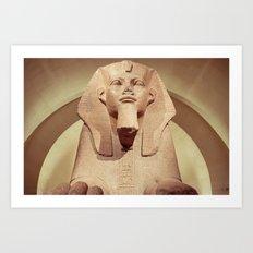 Great Sphinx of Tanis Art Print
