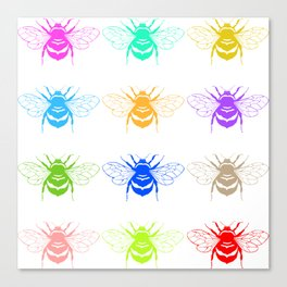 Honey Seekers  Canvas Print