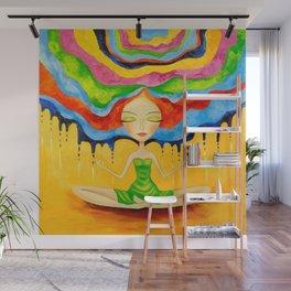 Meditation Wall Mural