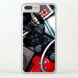 true gamer Clear iPhone Case