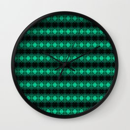 Oregon Green Wall Clock