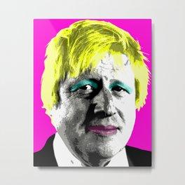 Boris Monroe - Pink Metal Print