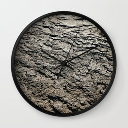 Layers of Desert Floor Wall Clock