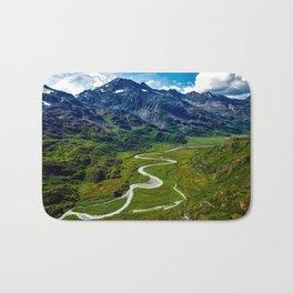 Down In The Valley Bath Mat