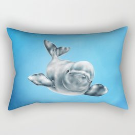 Beluga Rectangular Pillow